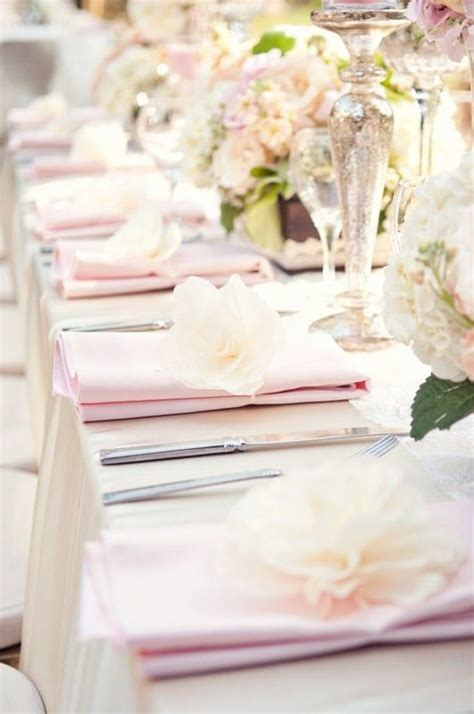 design ideas napkins table setting without plates for buffet maybe with