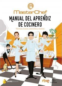 libro manual del aprendiz de manual del aprendiz de cocinero planeta de libros