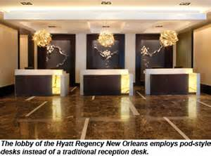 Hyatt Front Desk A Warm Reception For New Style Front Desks Travel Weekly