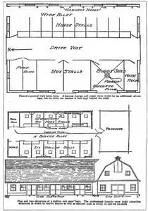 Barn Building Plans shed and barn plans small farmer s journal