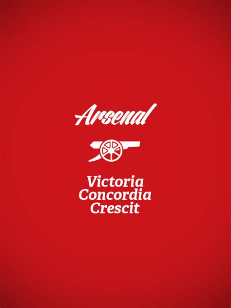 arsenal motto english premier league club logo x slogan on behance
