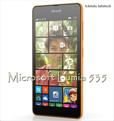 Microsoft Lumia 535 Price microsoft lumia 535 coming soon to india at rs 8 400 est