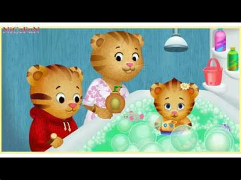 daniel tiger bathroom song daniel tiger s baby margaret bath youtube