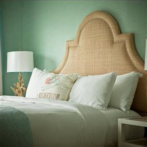 seafoam green and coral bedroom seafoam green grasscloth wallpaper design ideas