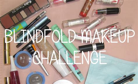 makeup challenge blindfold makeup challenge with tediousglutton