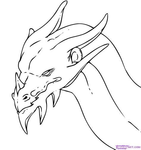 dragon faces pictures az coloring pages