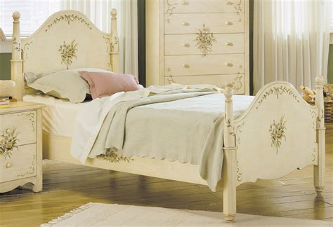 hand painted bedroom furniture homelegance cassidy twin bed 822 1