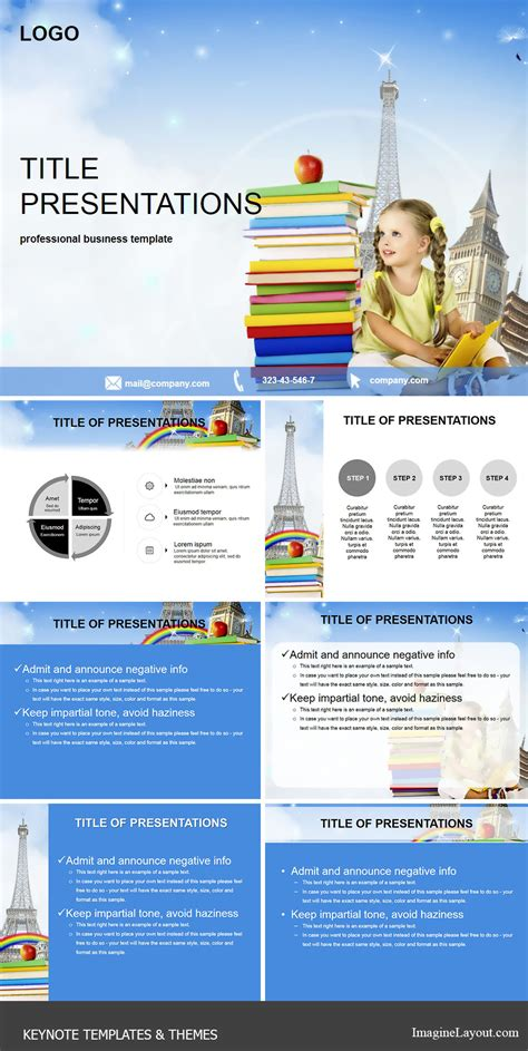 Keynote Themes Education | primary education keynote themes templates imaginelayout com