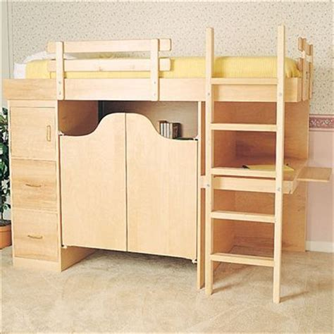 5 Foot Wide Futon Loft Bed 6 5 Ft By 3 5 Ft Wide By 4 5 Ft