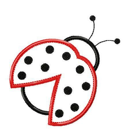 best photos of template of ladybug free printable