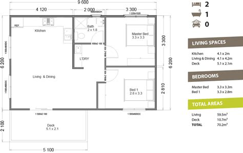 House Plans For Small Cottages Granny Flat 60 Pacific Building Company