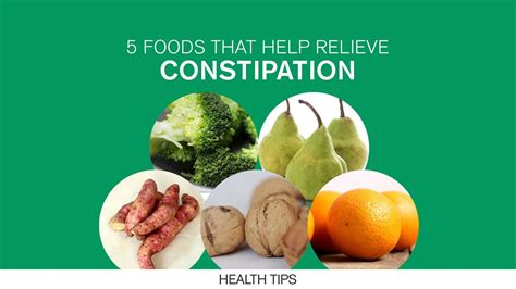 7 Things That Help Constipation by 5 Foods That Help Relieve Constipation