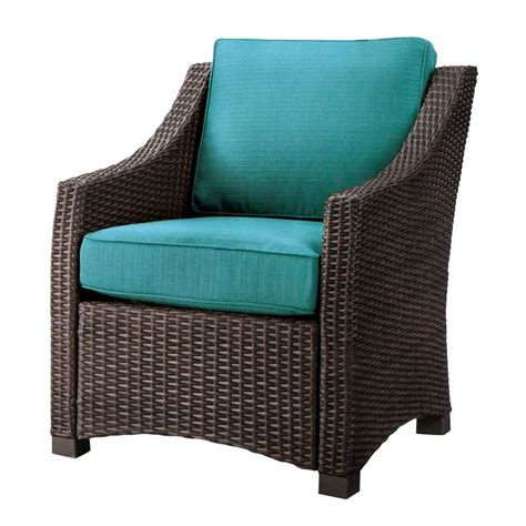 Belvedere Patio Furniture Belvedere Wicker Patio Club Chair Threshold Chairs Patio And Club Chairs