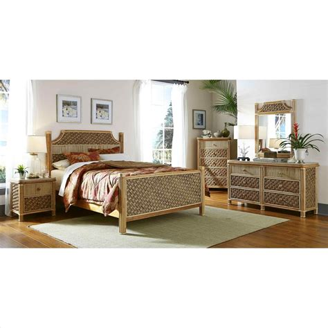 Black N White Bedroom Furniture by Vintage Bamboo Bedroom Furniture
