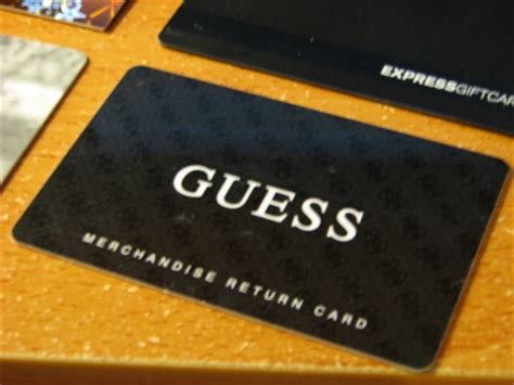 Guess Gift Cards - index of photos ebay