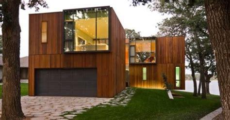 desain rumah kayu minimalis sederhana terbaru