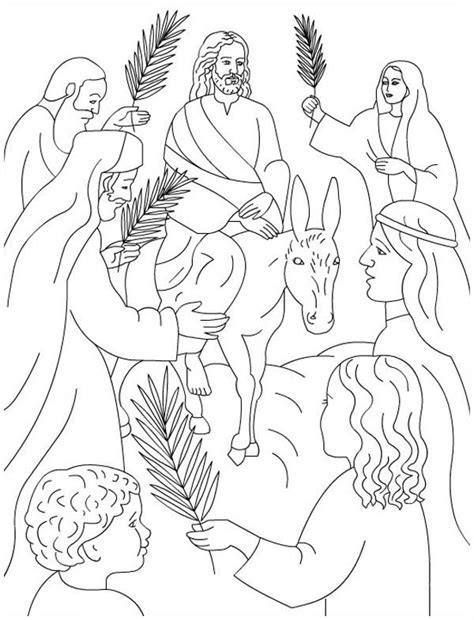 palm sunday colors palm sunday coloring page for palm sunday coloring