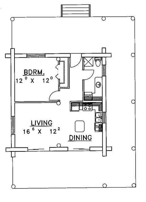 1 bedroom cabin plans contemporary one bedroom log cabin hwbdo62990