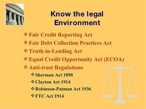 Fair Credit Collection Act Letter the of credit management