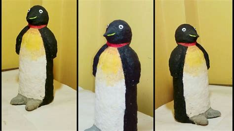 How To Make A Paper Mache Penguin - how to make a penguin from paper mache