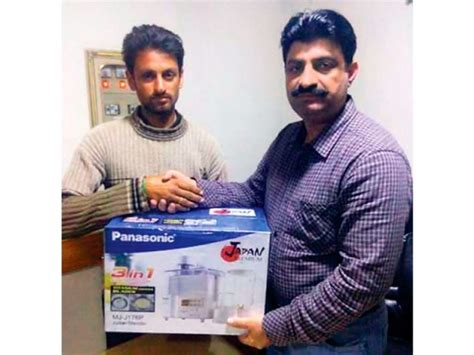 Kasur Winner prizes not promises gifts galore continues on josh cricket world cup inaami scheme the