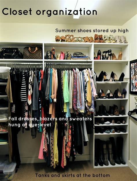 Closet Organization Tips | fall closet organization and tips for staying organized