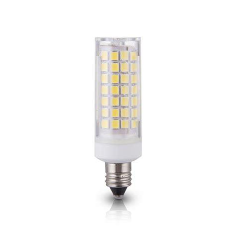 replacement mini led light bulbs lumenbasic e11 led bulb mini candelabra base 50 watt to