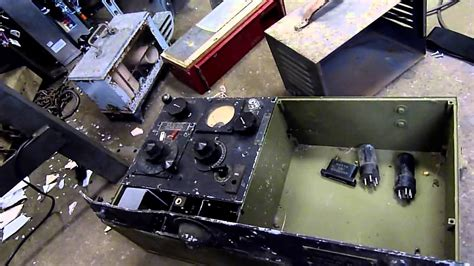 vintage electronic scrap inspection radio vacuum tubes