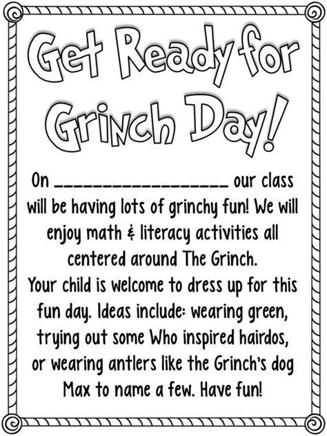Character Day Letter To Parents The World S Catalog Of Ideas