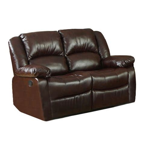 sears reclining sofa venetian worldwide cm6556 l winslow bonded leather