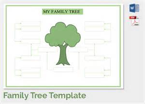 blank family tree template for sle family tree chart template 17 documents in pdf