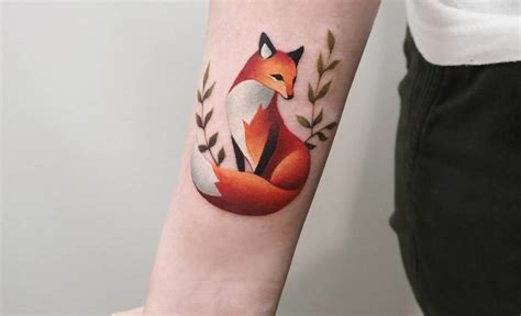 small fox tattoos 46 adorable fox designs and ideas tattoobloq