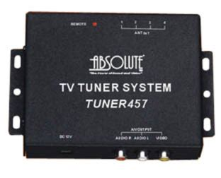 Tv Tuner Outboard absolute tuner457 tv tuner w built in 4 channel diversity antenna input at onlinecarstereo