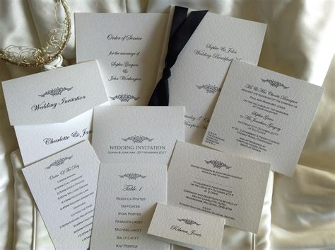 wedding stationery companies uk motif wedding stationery range