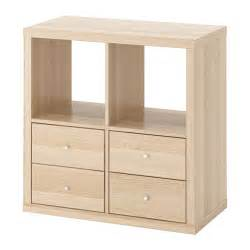 Kallax shelving unit with drawers ikea