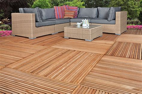 Deck Tiles by Yogyakarta Hardwood Garden Decking Tile