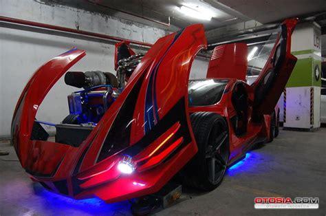 Kapasitor Venom Diablo modifikasi escudo sport enam roda kupu kupu malam otosia