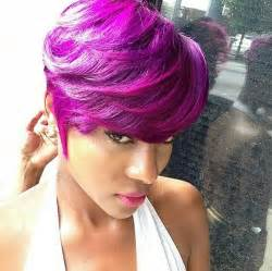 black hairstyles purple 15 black girls with short hair short hairstyles 2016
