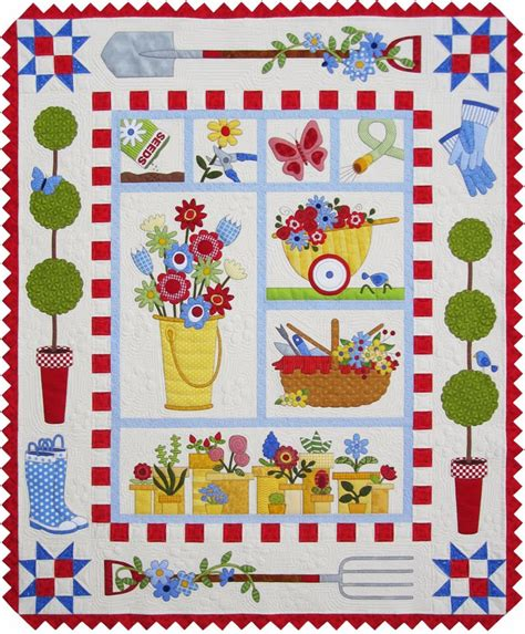 Garden Quilt bradley designs new quot garden quilt quot pattern give a way