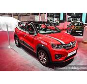 Renault Kwid With Accessories  Auto Expo 2016 Live