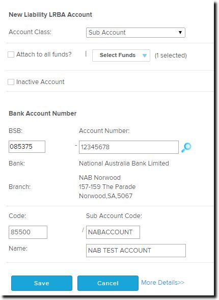 bsb bank account loan accounts set up incorrectly the bgl bank data