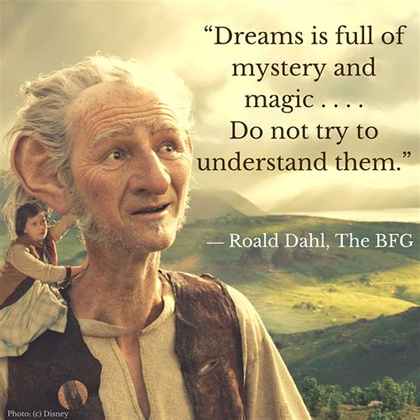 quotes  bfg  roald dahl   film  disney