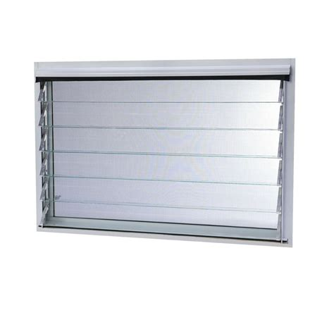 jalousie aluminium aluminum jalousie utility louver window 6 slat 36 in x