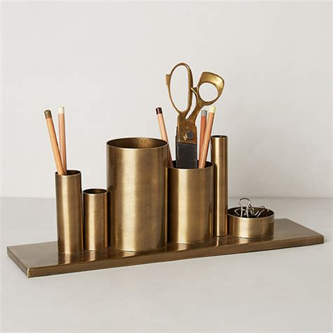 brass desk accessories best new desk accessories food wine