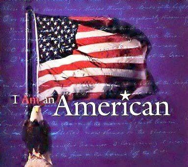 An American I Am An American Politics