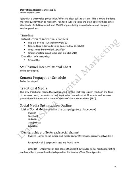 networking business plan sle