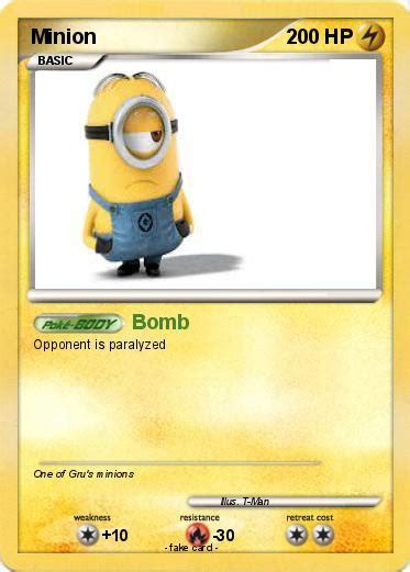 Tempat Pasport Id Card Minion pok 233 mon minion 164 164 bomb my card