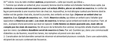 Lettre De Motivation De Nourrice Agrée Nourrice La D 233 Finition Du Terme Quot Nourrice Quot