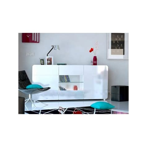 Sideboard With Lights bump white gloss sideboard with led lights sideboards home furniture