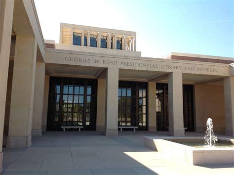 george w bush presidential library and museum marek